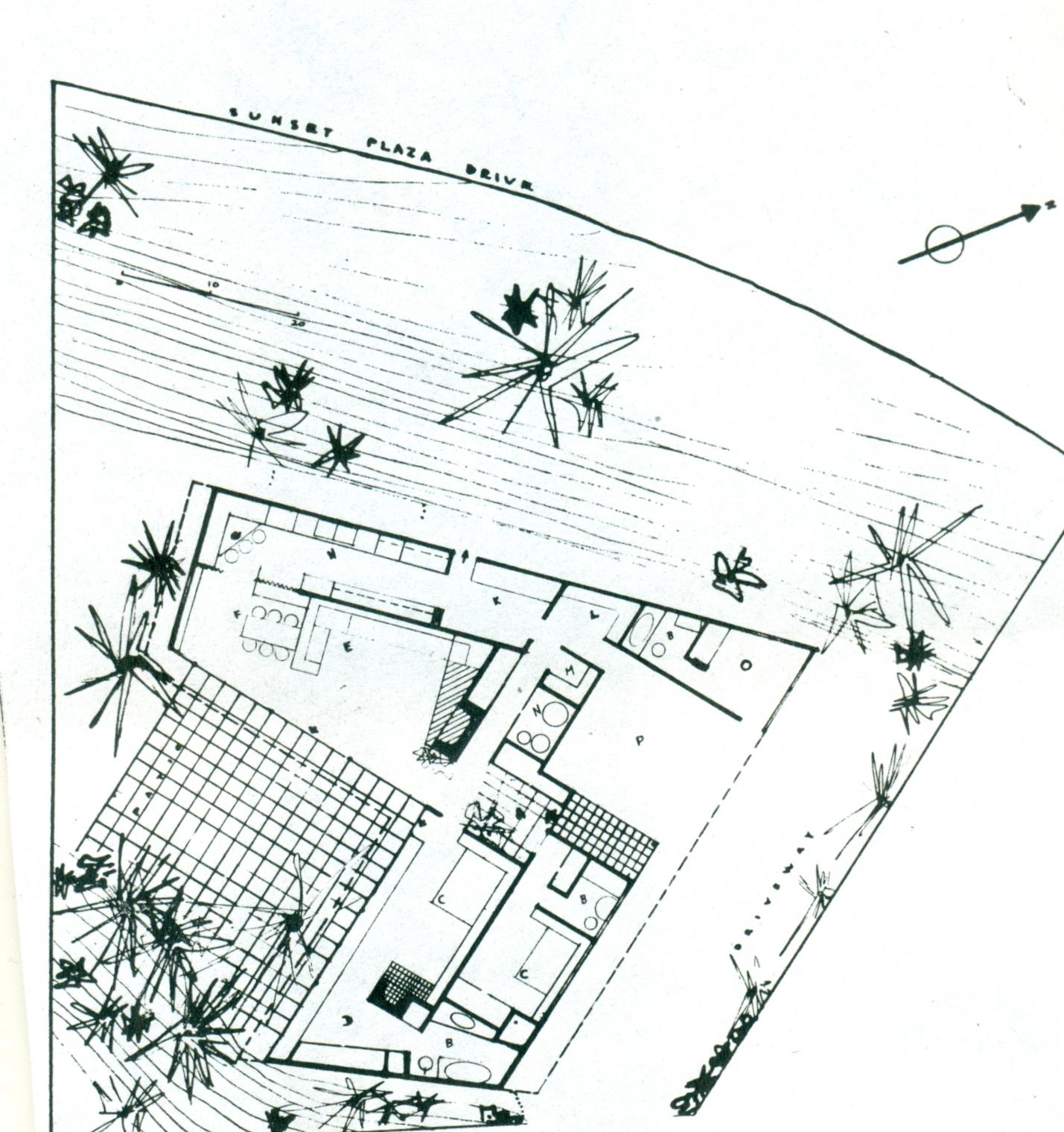 Usmodernist soriano for Pentagon shaped house plans