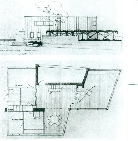 the first version was too expensive so aalto reduced the size of the house shown above - Alvar Aalto House Plans
