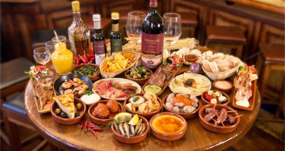 Image result for tapas table