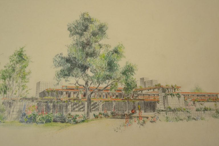Alden B. Dow's Unbuilt Houses for K. T. Keller
