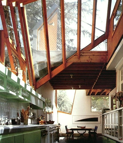 Gehry House Interior Living Photograph