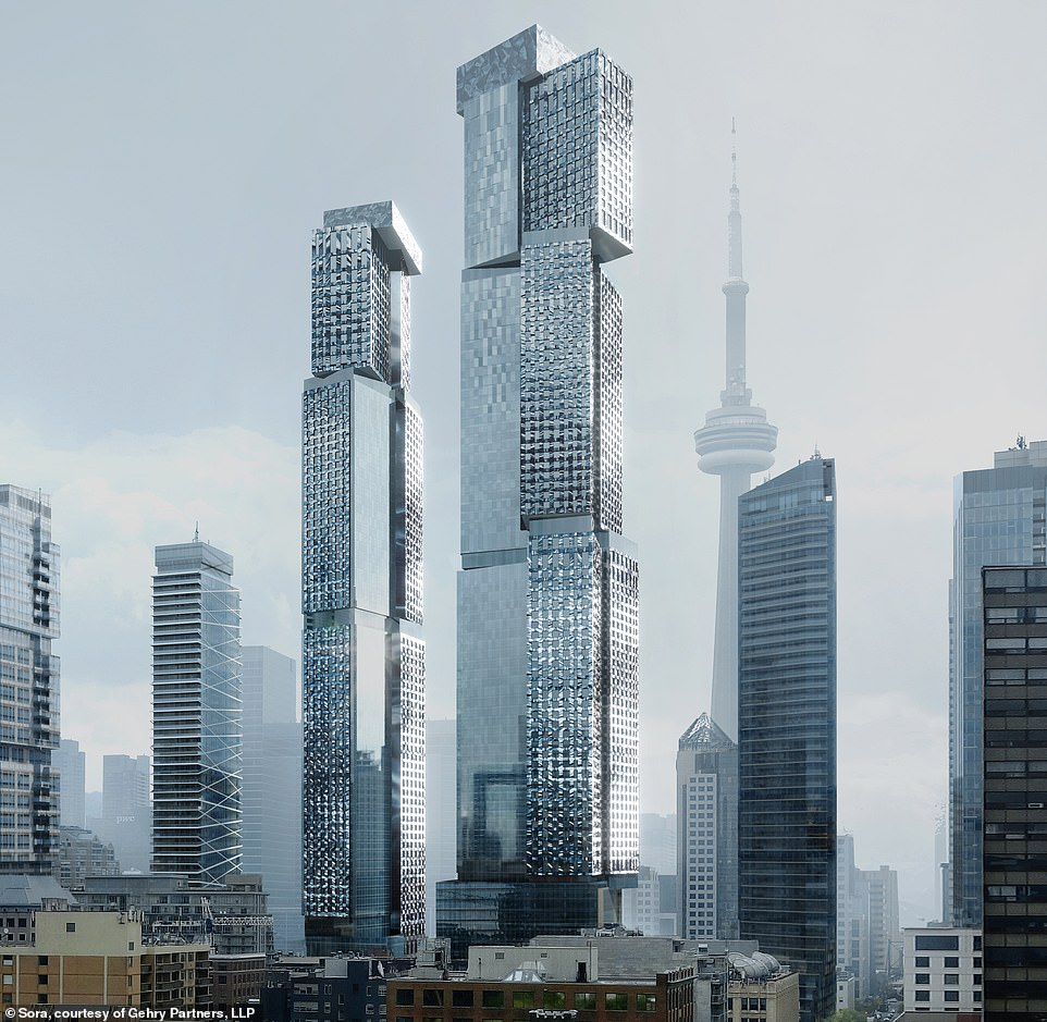 Image result for gehry toronto towers