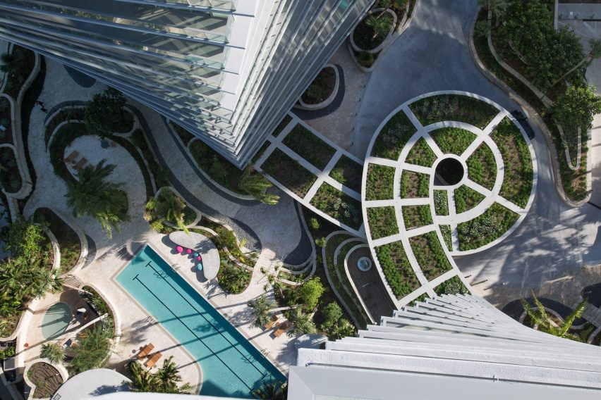 Twisting Towers by Bjarke Ingels