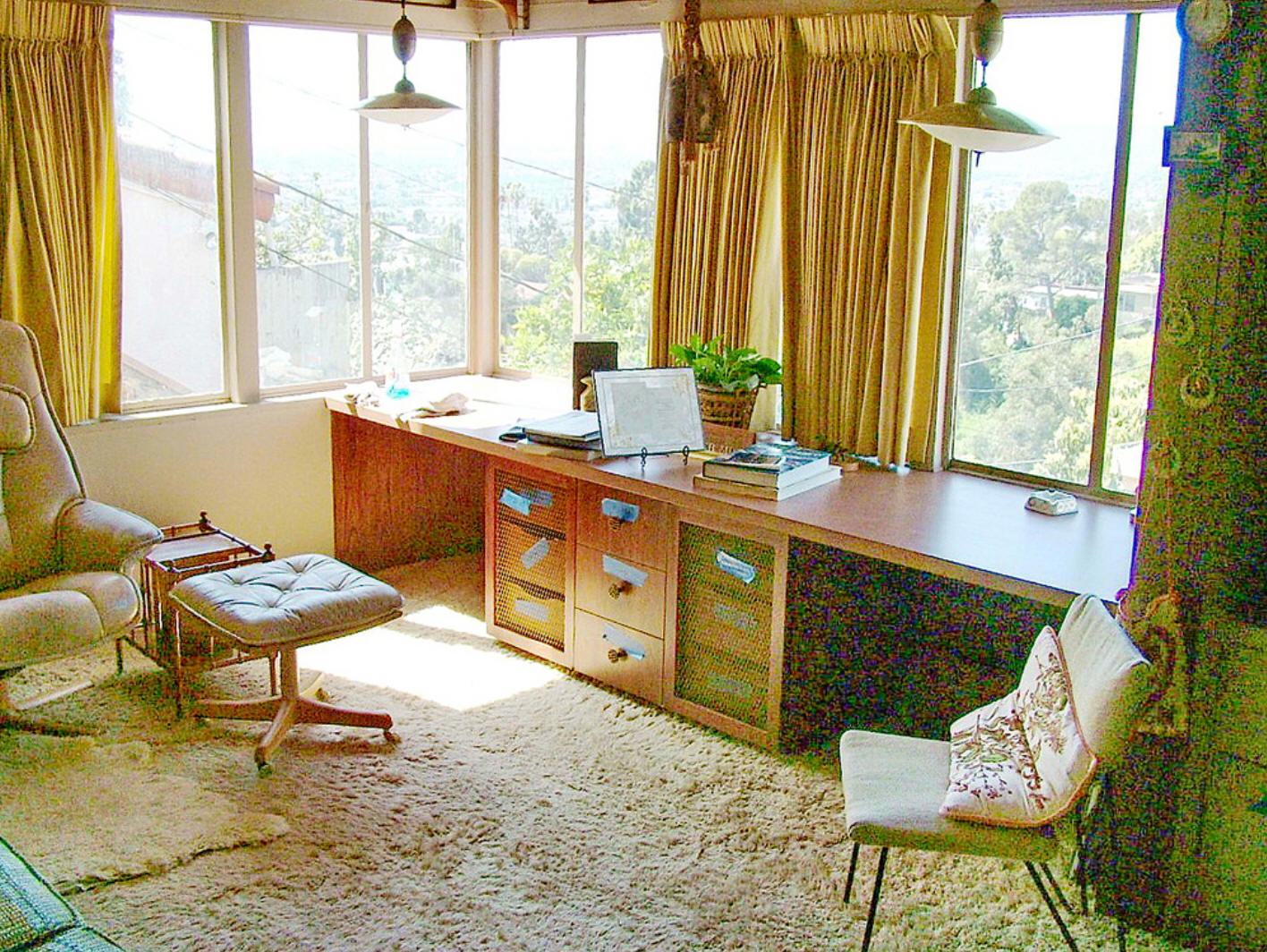 Usmodernist Soriano 1953 Bel Air Wiring Diagram 1936 The Emanuel M And Helen Lipetz House 1843 9 North Dillon Street Los Angeles Ca Overlooks Silver Lake It Created A Sensation In Paris Where