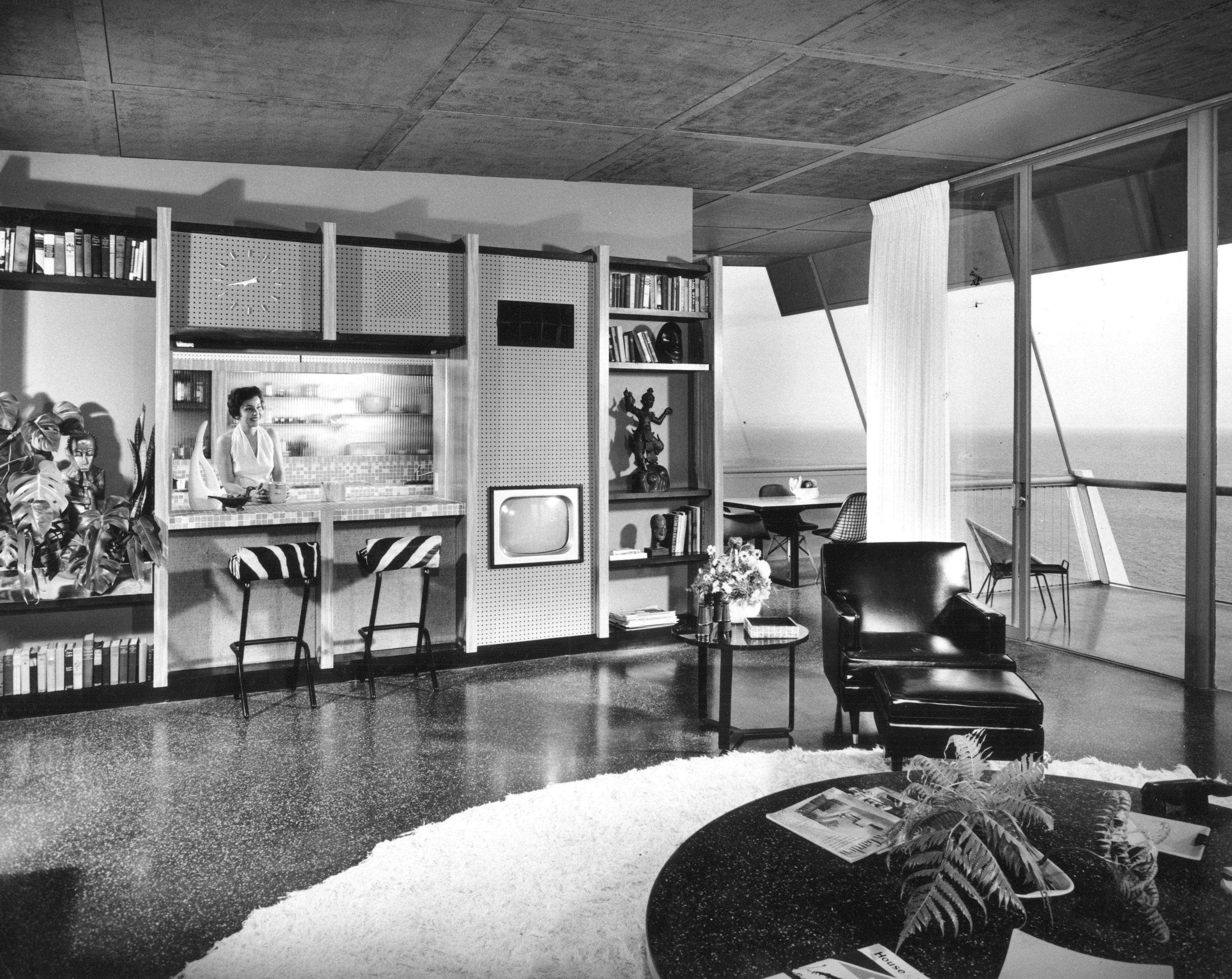 usmodernist richard spencer - 1955 Home Design