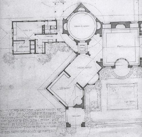 Usmodernist frank lloyd wright for Honeycomb house floor plan